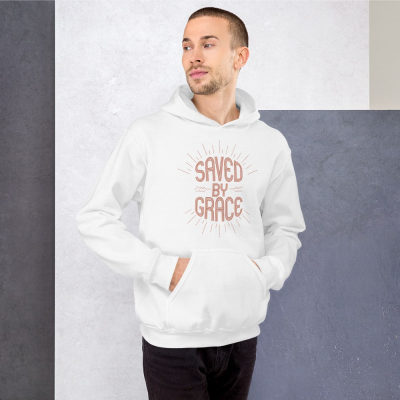 Saved by Grace Men's Hoodie