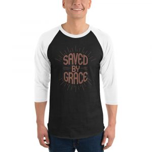 Saved by Grace Men's 3/4 Sleeve Shirt Collection