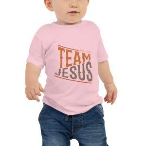 Team Jesus Baby Jersey Tee