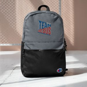 Team Jesus Backpack (Embroidered)