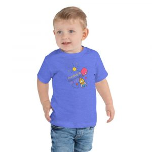 Psalm 139:14 Fearfully and Wonderfully Made Toddler T-Shirt