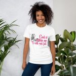 God Is Within Me, I Will Not Fall (Psalm 46:5 ) Women's T-Shirt